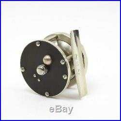 Vintage Montague Trout Fly Fishing Reel. German Silver. 60 yd