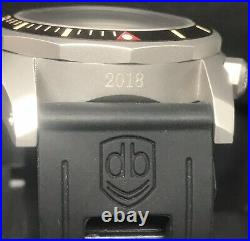 Vintage VDB 2018 Blasted Swiss Automatic ETA 2824 46mm 300m Diver German Made