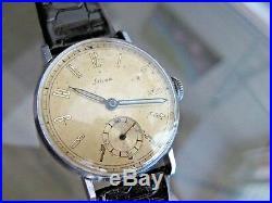 Vintage and Rare Stowa Watch Co 33 mm Calatrava German Made Wristwatch