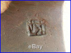 Vtg Antique German Marked Hand Forged Hewing Goosewing Bearded Broad Axe Hatchet