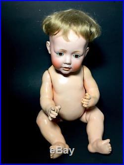 Vtg Original Jdk Hilda Doll Kestner 237 Germany 1070 15 Antique Old