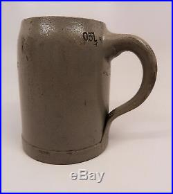 WWII vintage antique beer mug ceramic stein WW1 Christmas German 0.5L Wehrmacht